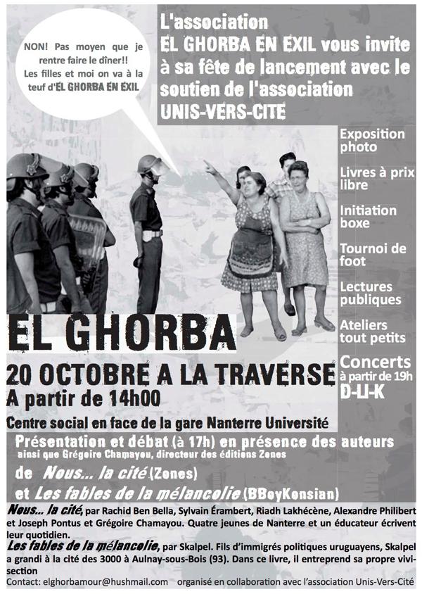 Présentation de 'Fables de la mélancolie' et débat en présence de Skalpel à Nanterre le 20 octobre 2012