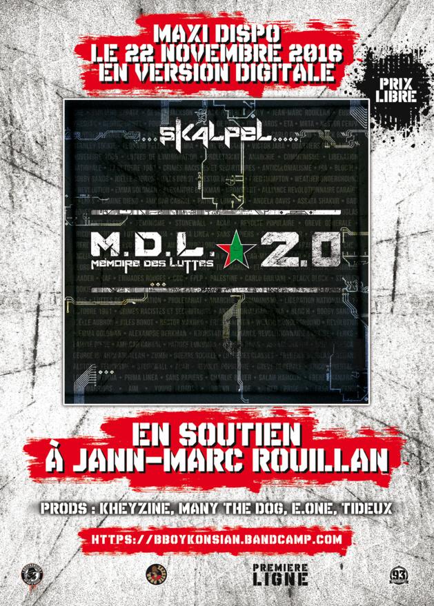 Le maxi 'M.D.L. 2.0' de Skalpel disponible en version digitale le 22 novembre 2016