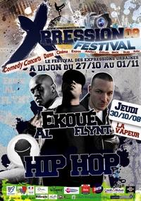 1ère édition du 'Xpression Festival' à Dijon du 27/10/2008 au 01/11/2008