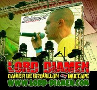 Lord Diamen présente 'Cahier de brouillon - Mixtape'