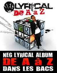 'De A à Z', l'album de Neg Lyrical déjà disponible