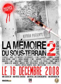 'La mémoire du sous-terrain 2' disponible le 16 décembre 2008