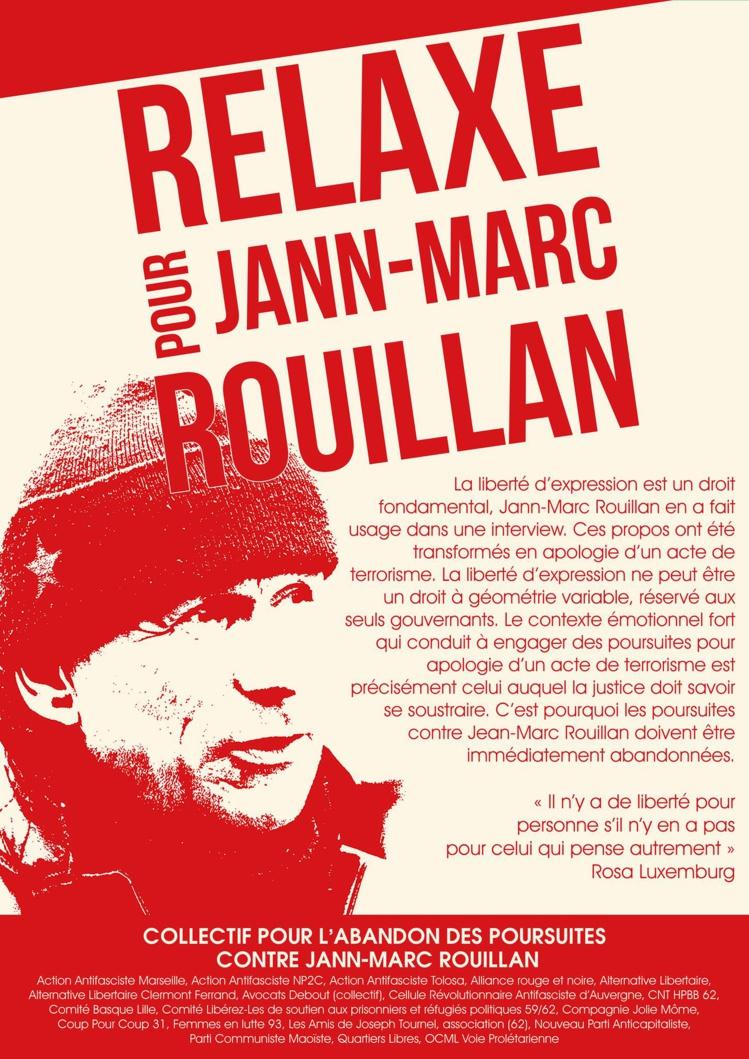 Procès en appel de Jean-Marc Rouillan le 18 avril 2017 à Paris