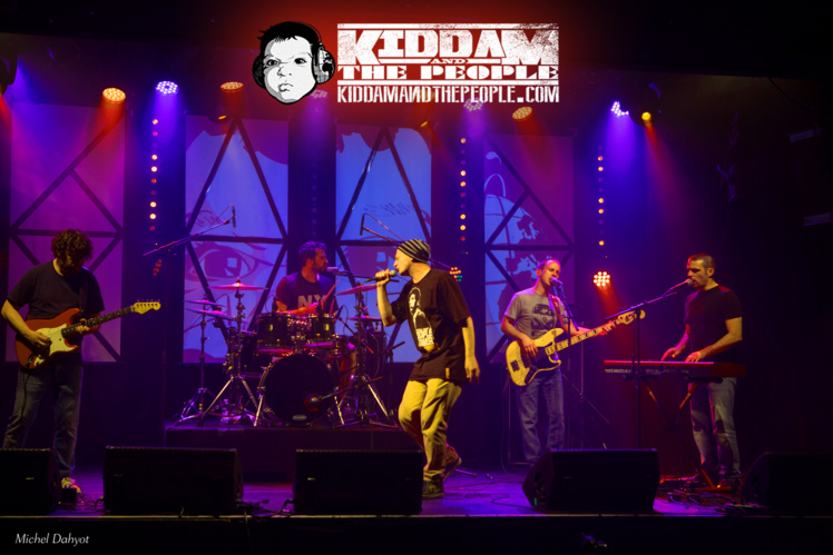 "Clip inédit ""Rage against the fascism"" de Kiddam and the People"
