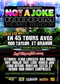 Poor Man Records présente le 'Not a joke Riddim'