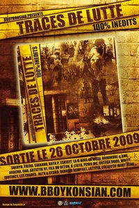 BBoyKonsian présente 'Traces de lutte', compilation CD disponible le 26 octobre 2009