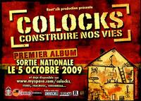 'Construire nos vies', l'album de Colocks, en sortie nationale le 05 octobre 2009
