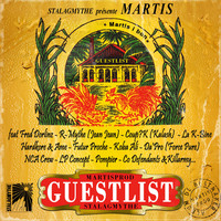 Martis, beatmaker du label Stalagmythe, sort son album 'Guestlist' le 20 octobre 2009