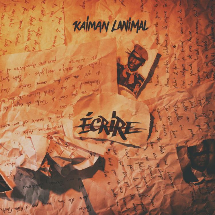 """Kaiman Lanimal annonce la sortie de son 1er album solo """"Ecrire raturer"""" le 08 octobre 2017"""
