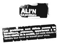 Ali'N prépare la sortie de son nouvel album 'Le prolétaire'