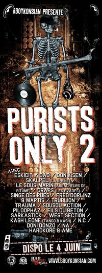 La compilation 'Purists Only 2' disponible à partir du 04 juin 2010