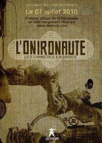 Premier album de L'onironaute 'Les chimères exquises'