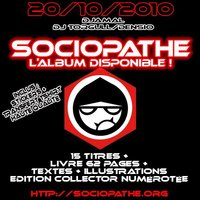L'album 'Sociopathe' de Djamal disponible le 20 octobre 2010