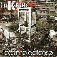 L'album 'Légitime défense' de La K-Bine en libre téléchargement