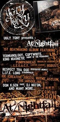 Sortie début 2011 de l'album 'At nightfall' réalisé par Ugly Tony