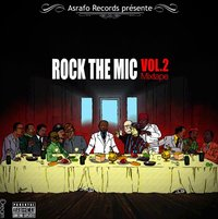 Mixtape d'Asrafo Records 'Rock the mic Vol.2'