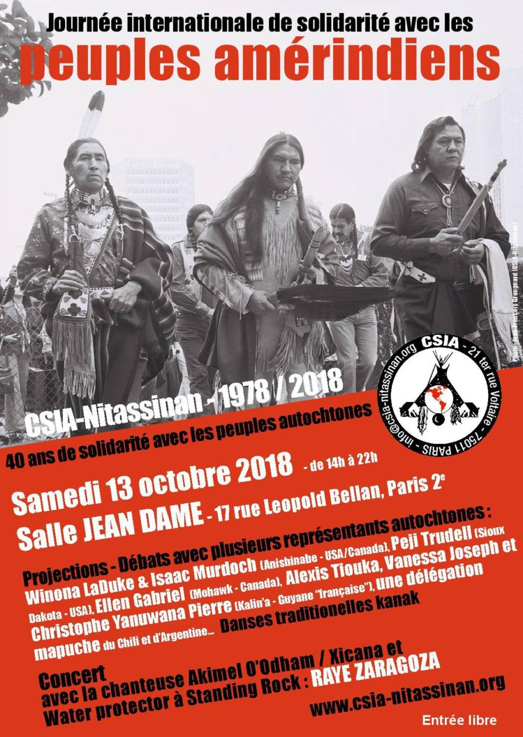 """Emission """"Frontline"""" du 28 septembre 2018 avec Sylvain du CSIA-Nitassinan"""