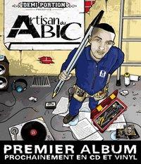 Premier album solo de Demi-Portion 'Artisan du bic' disponible prochainement