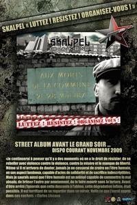 Présentation du Street album 'Luttez!Résistez!Organisez-vous!'