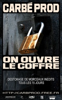 Nouveau projet de Carbé Prod: 'On ouvre le coffre'