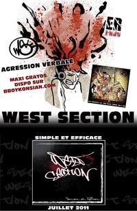 Maxi de West Section 'Agression verbale' avant l'album prévu pour juillet 2011
