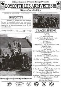 Mixtape de Sticky Snake (L'Alerte Rouge) 'Boycotte les arrivistes!!!'