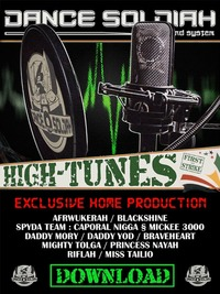 Mixtape 'High tunes Vol.1' du Dance Soldiah Sound