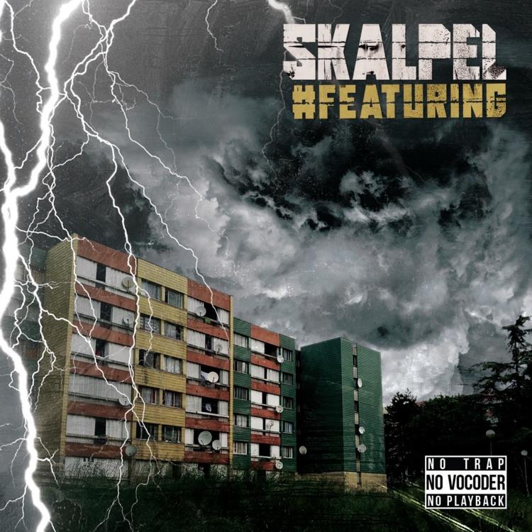 """L'album """"#Featuring"""" de Skalpel disponible le 15 octobre 2019"""