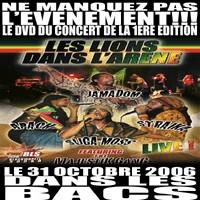 DVD 'Les Lions dans l'Arène'