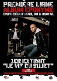 'Le vif du sujet', premier extrait de l'album éponyme de Première Ligne