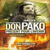 1er album de Don Pako dans les bacs en janvier 2007