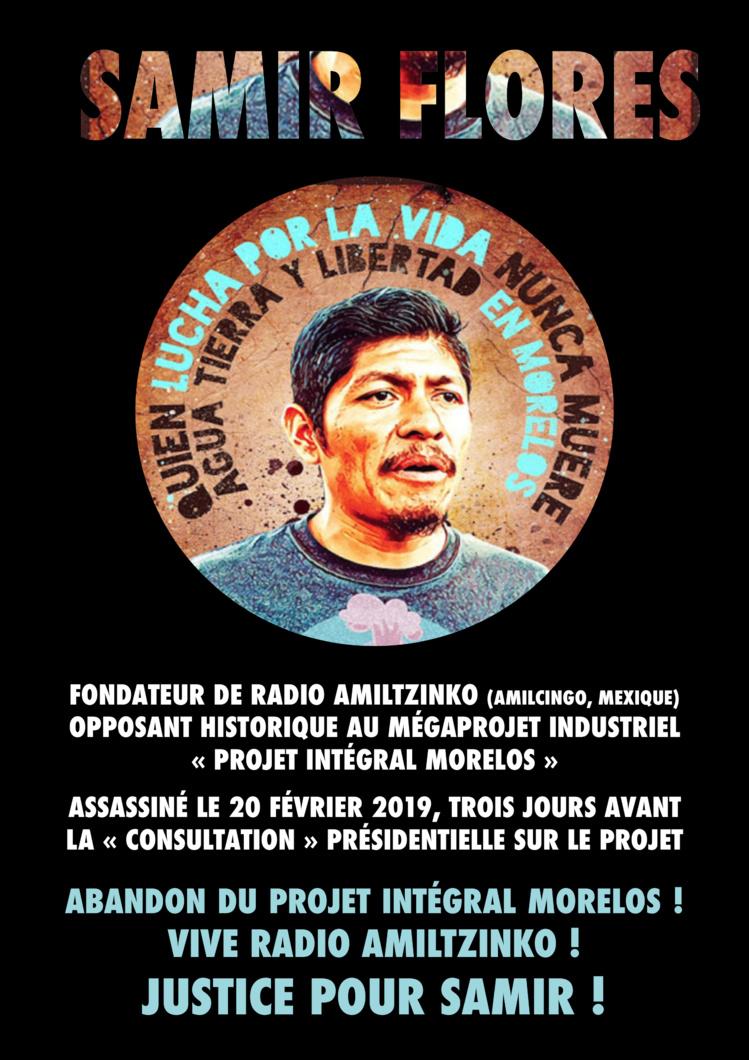 """Emission """"Frontline"""" du 26 février 2021 sur le Mexique, la tournée des Zapatistes et Samir Flores"""