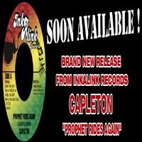 Nouveau 45T d'InkALink Records avec Capleton