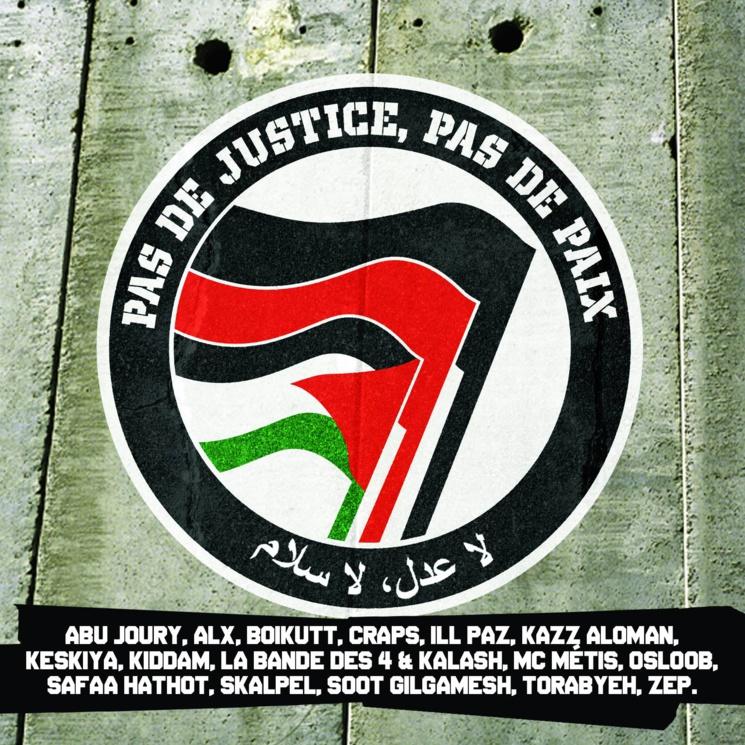 Sortie de la Mixtape 'Pas de justice, pas de paix' en été 2015