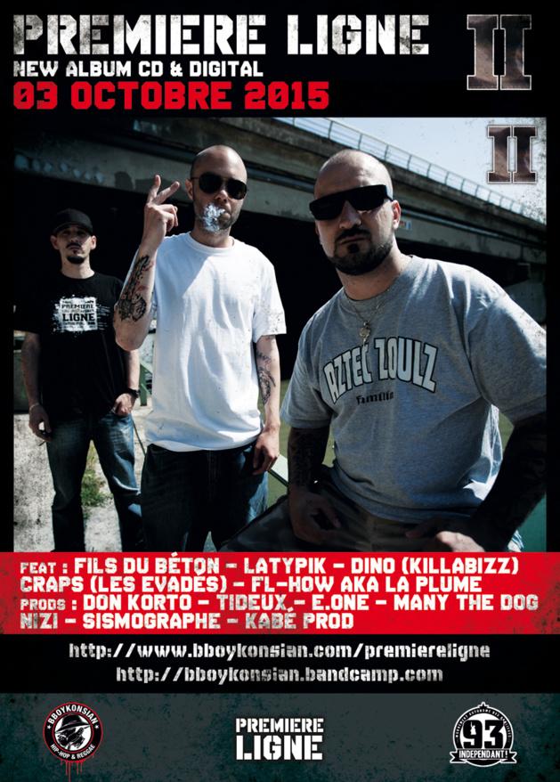 Sortie du nouvel album de Première Ligne 'II' le 03 octobre 2015