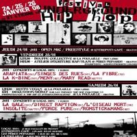 Festival Hip-Hop à Saint-Etienne les 24,25 et 26 janvier 2008