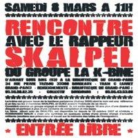 Rencontre avec Skalpel à Bordeaux le 08 mars 2008
