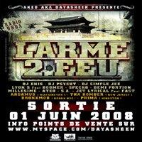 Akeo présente la compilation 'Larme 2 feu'