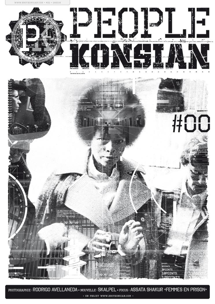 Sortie du fanzine 'PeopleKonsian #00' en version papier