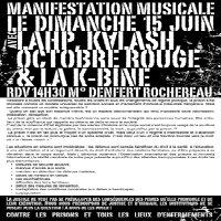 Manifestation musicale contre les prisons et tous les lieux d'enfermements
