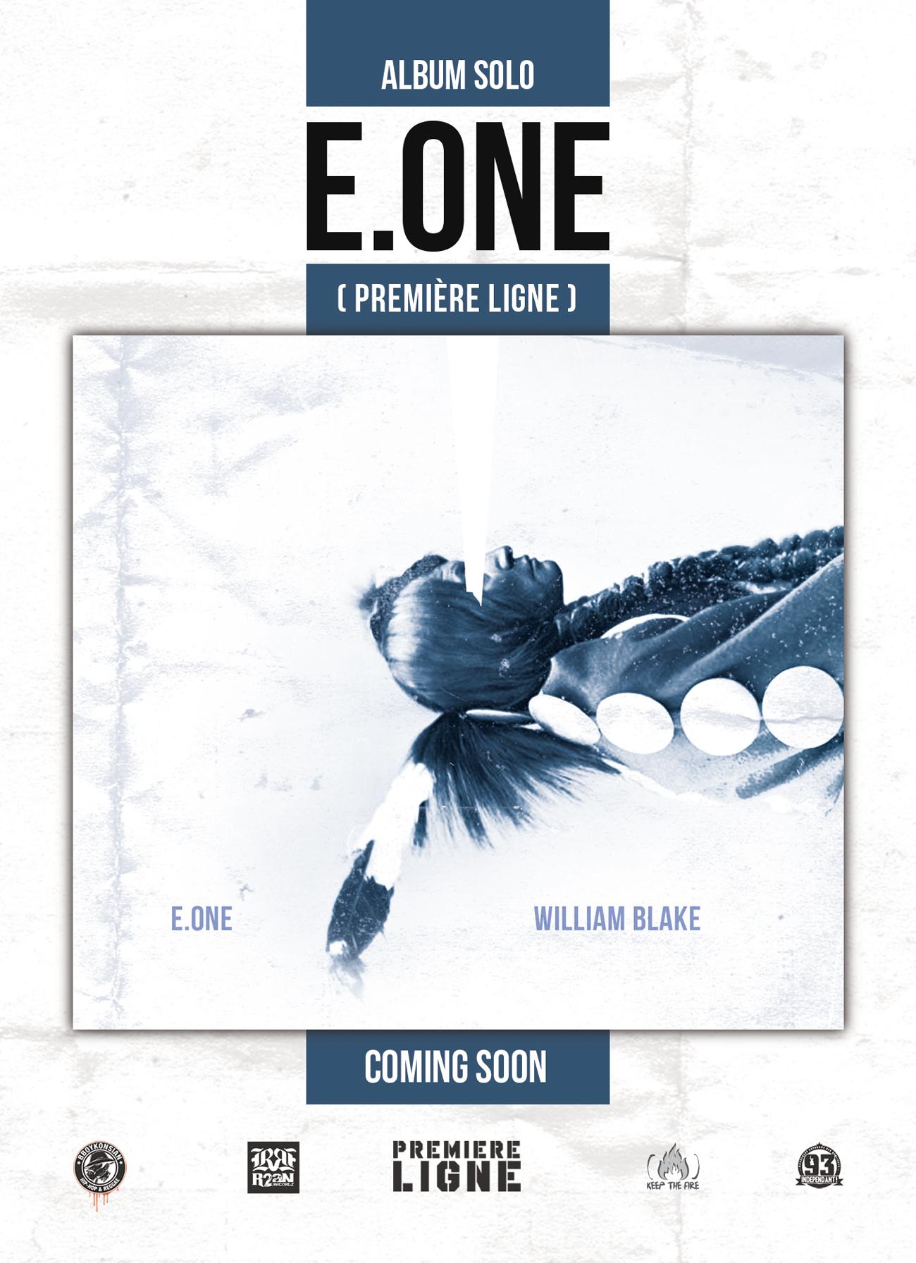 Sortie prochaine de l'album solo de E.One 'William Blake'