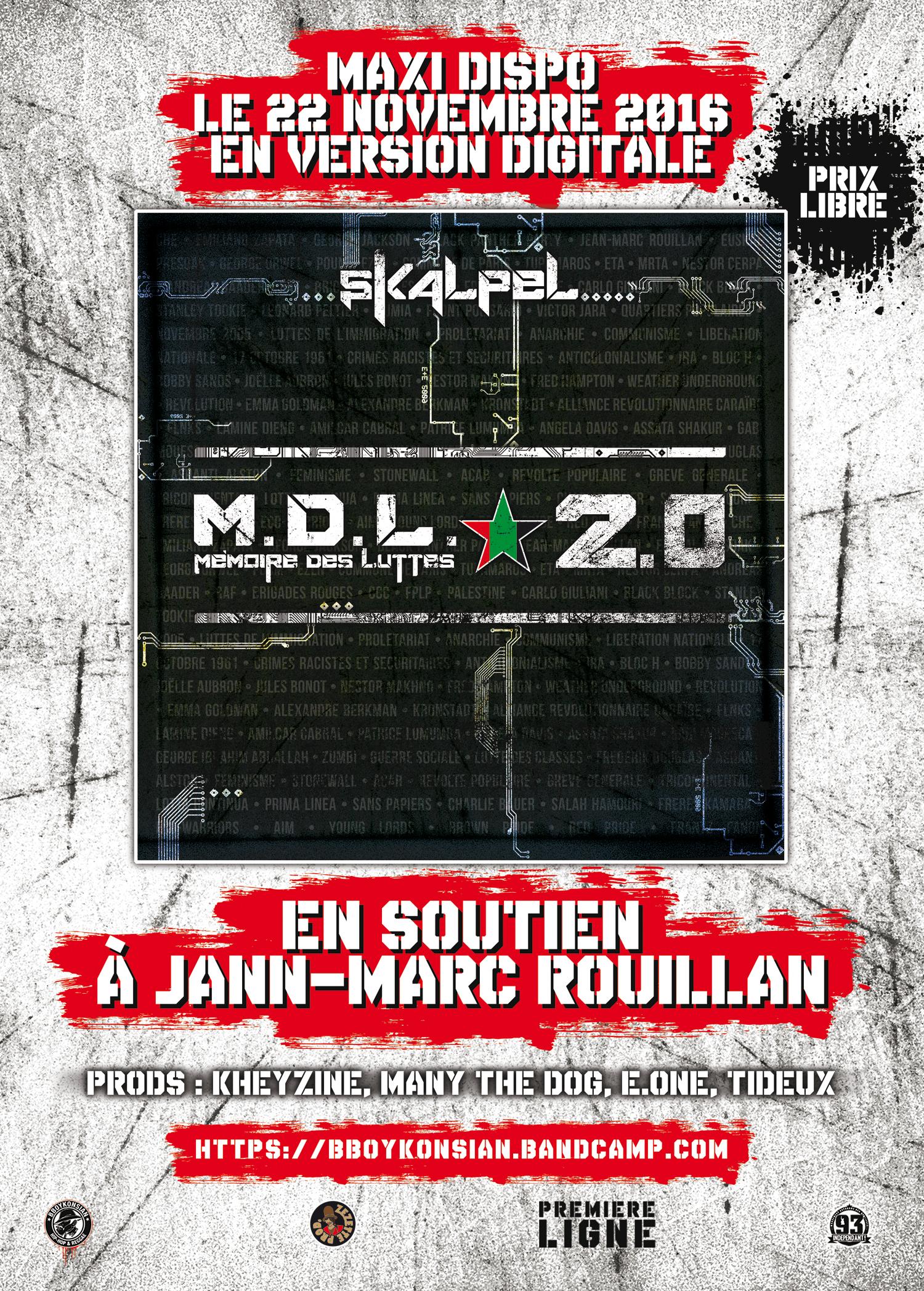 Le maxi 'M.D.L. 2.0' de Skalpel disponible en version digitale