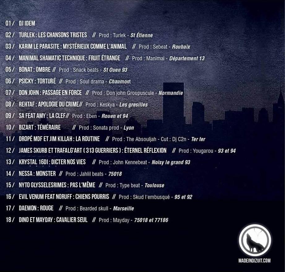 """La compilation """"Le très haut niveau"""" réalisée par Dino (Killabizz)"""