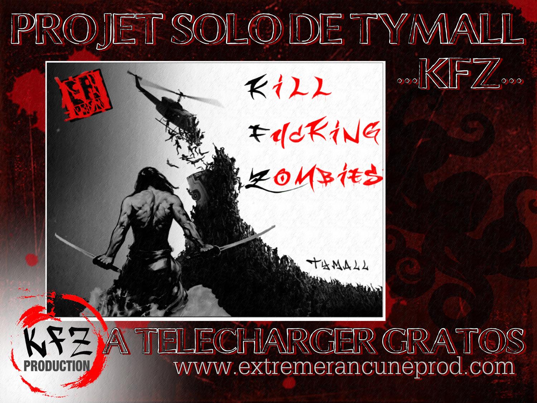 """Projet solo de Tymall """"Kill Fucking Zombies"""""""