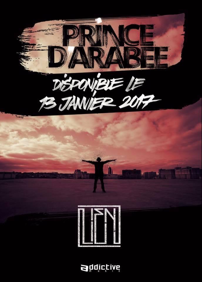 """L'album """"Lien"""" de Prince d'Arabee"""
