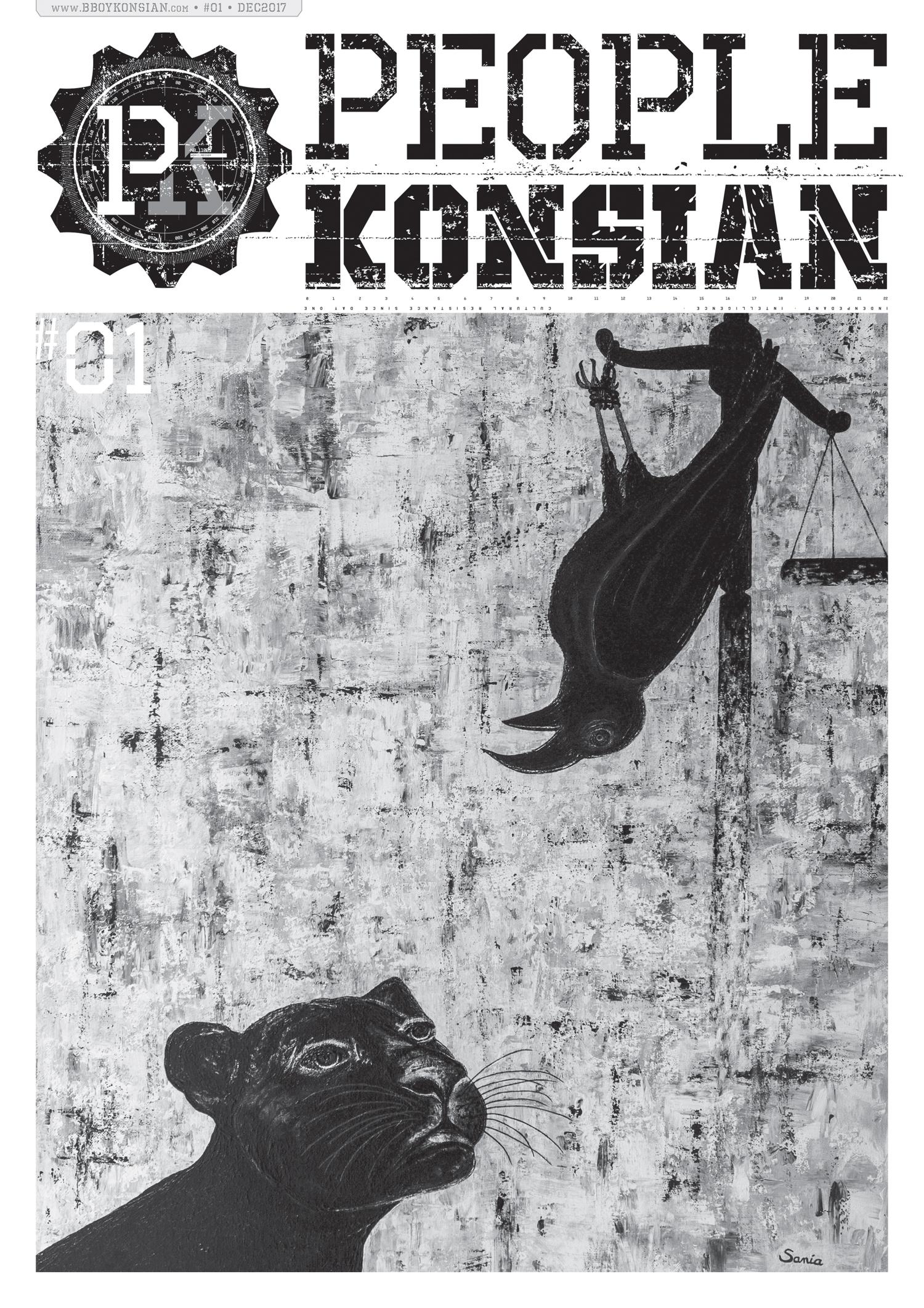 """Sortie du fanzine """"PeopleKonsian #01"""" en version papier le 20 janvier 2018"""