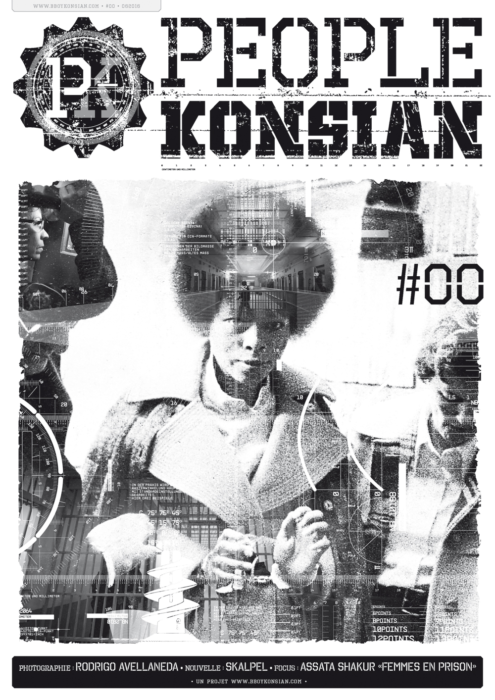 """Sortie du fanzine """"PeopleKonsian #00"""" en version papier"""