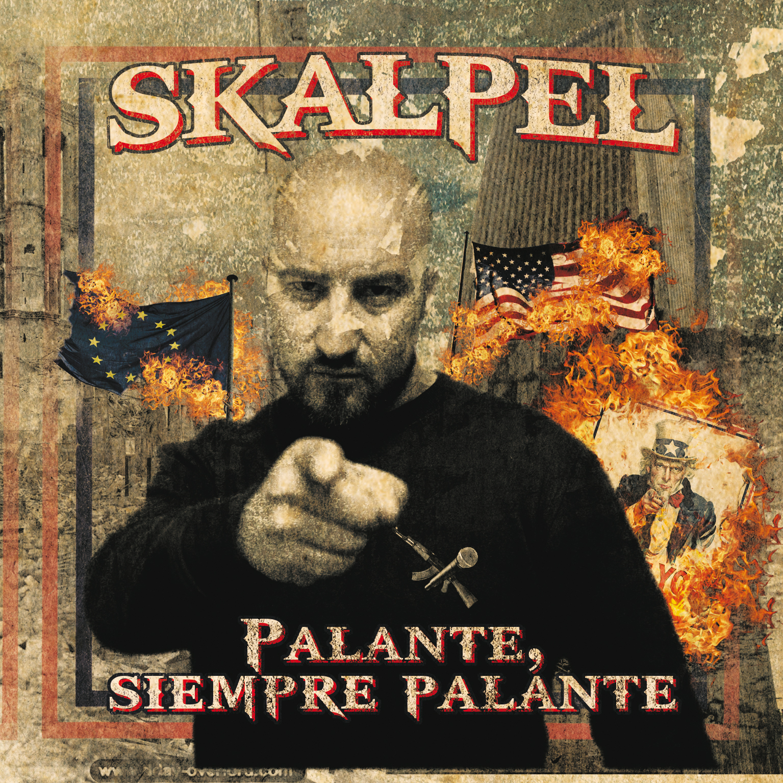 """Palante, siempre palante"" de Skalpel disponible en CD & Digital"