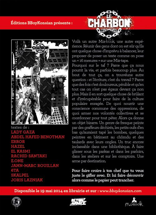 Sortie du livre collectif 'Le charbon' (Editions BBoyKonsian)