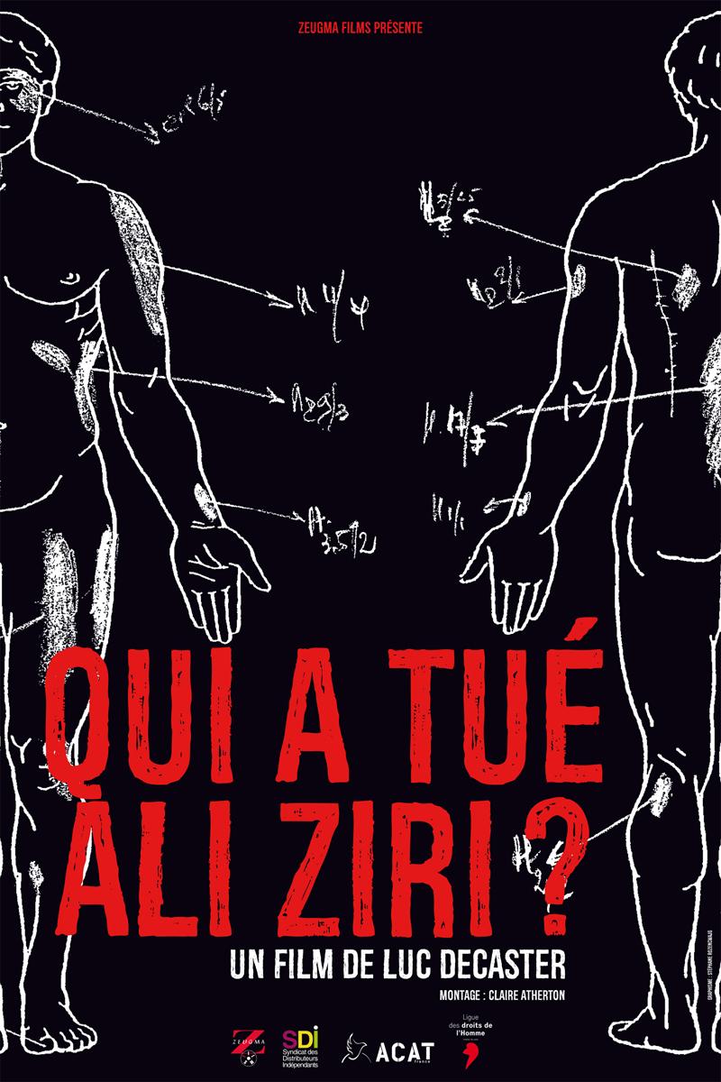 Sortie le 07 octobre du film 'Qui a tué Ali Ziri ?' de Luc Decaster